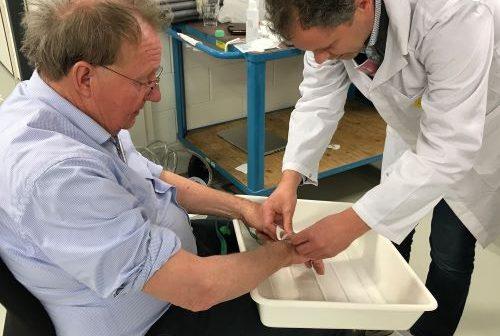 Fotonicapionier Pim Kat vindt in diagnosticeren hartfalen toepassing voor revolutionaire meettechniek