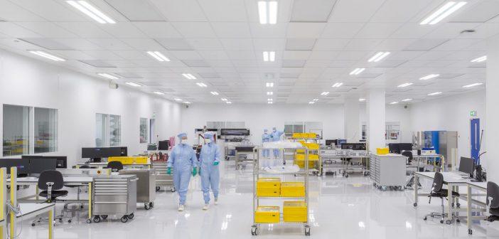 Brecon bouwt cleanroom voor KMWE Group