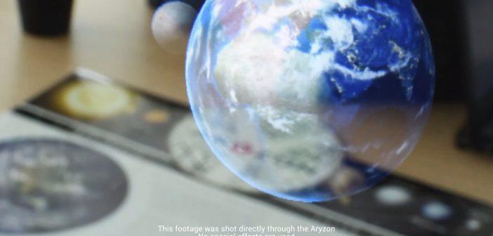 National Geographic gebruikt Augmented Reality bril van Enschedese startup Aryzon